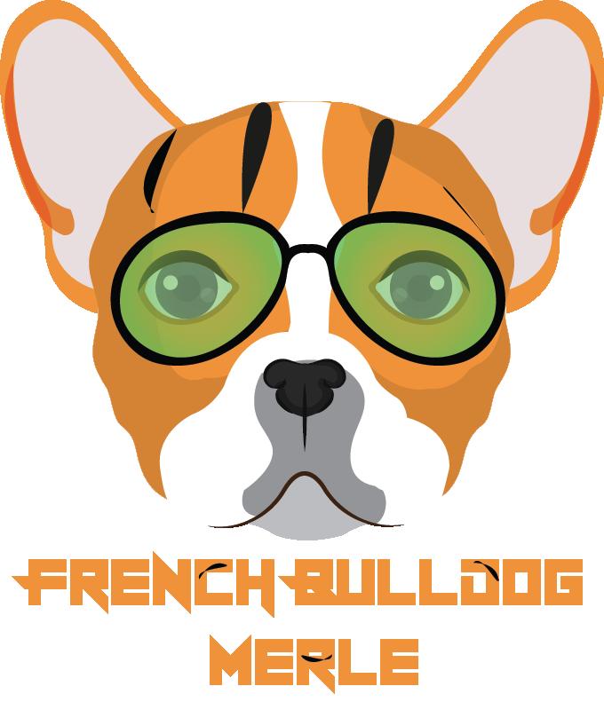french bulldog merle logo